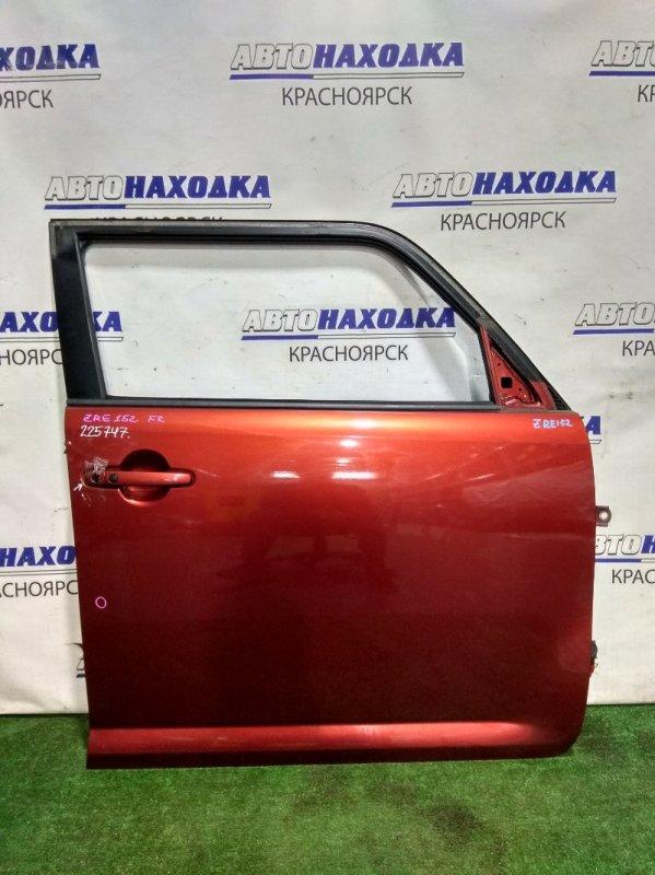 Дверь Toyota Corolla Rumion ZRE152N 2ZR-FE 2007 передняя правая 67001-12A50 FR в сборе. Почти в ХТС. Цвет 3R6