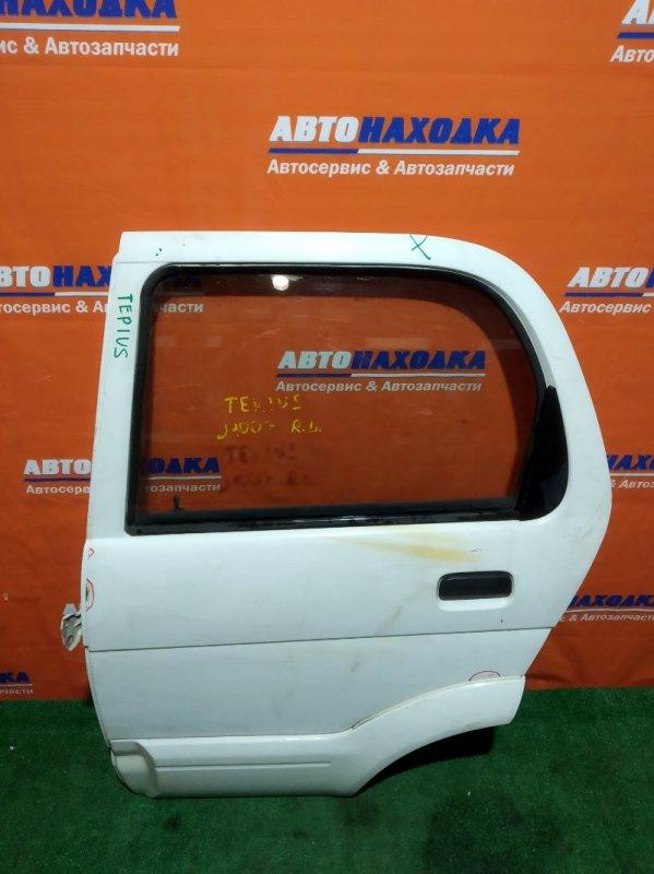 Дверь Daihatsu Terios J100G HC-EJ задняя левая RL белая