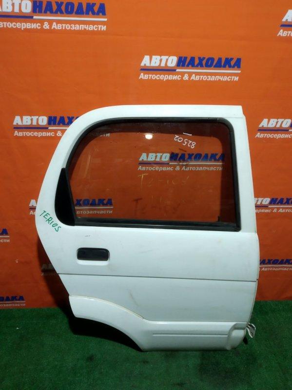 Дверь Daihatsu Terios J100G HC-EJ задняя правая RR белая