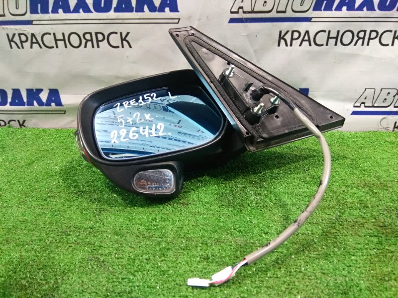 Зеркало Toyota Corolla Rumion ZRE152N 2ZR-FE 2007 переднее левое 12-514, 87940-12D60 левое, 7 контактов. ХТС. Цвет