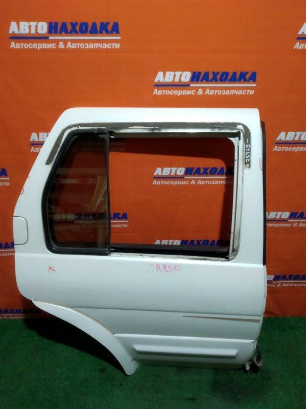 Дверь Nissan Terrano Regulus PR50 VG33E задняя правая RR белая, без опускного стекла!