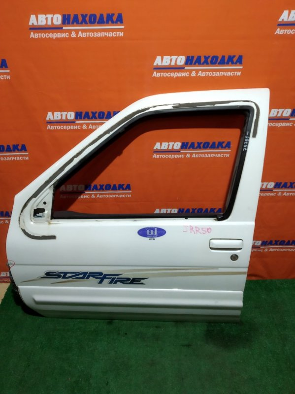 Дверь Nissan Terrano PR50 VG33E передняя левая FL белая