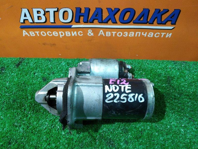 Стартер Nissan Note E12 HR12DE 23300-1HC1B, M000T37871 NOTE E12