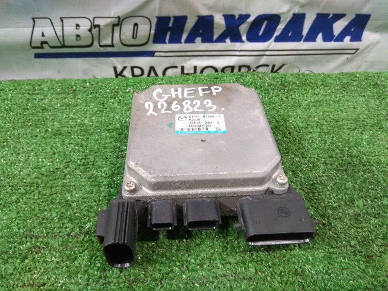 Блок управления рулевой рейкой Mazda Atenza GHEFP LF-VE 2008 GS1D67880F, GS1D-67-880 Блок управления