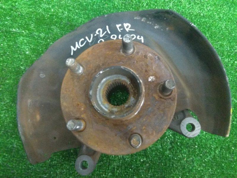 Ступица Toyota Mark Ii Qualis MCV20W 1MZ-FE передняя правая FR ABS, без диска и суппорта, ХТС
