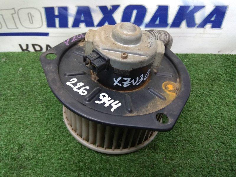 Мотор печки Toyota Dyna XZU306M S05D 1999 282500-1000 24V, металлическая крышка