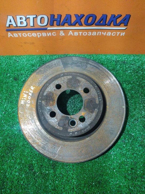 Диск тормозной Mini Cooper R53 W10B16 передний 1502891 Ф275, T20, 4 ШПИЛЬКИ,