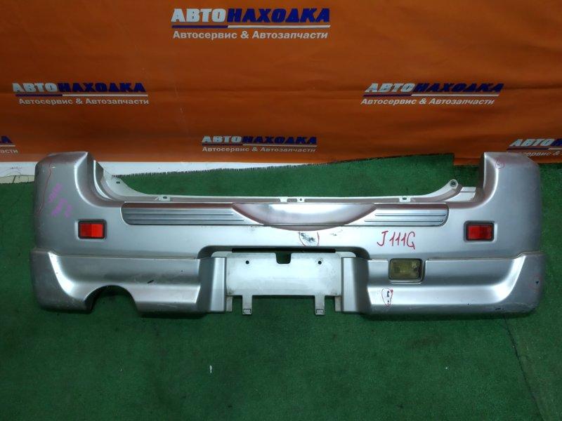Бампер Daihatsu Terios J100G HC-EJ задний накладка+катафоты 3087+зад ход 132-51491 под покраску
