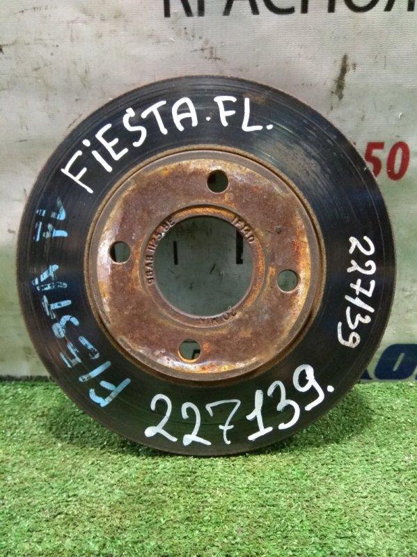 Диск тормозной Ford Fiesta CBK FYJA 2005 передний 1808479, 98AX-1125-B1F, 1522230, 1465622 передний