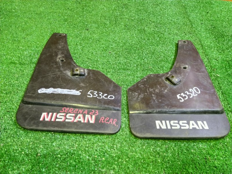Брызговик Nissan Vanette Serena KBC23 CD20 задний ПАРА