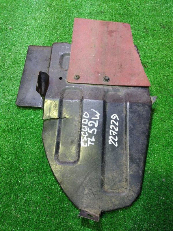 Защита топливного бака Suzuki Escudo TL52W J20A 89311-65D00 ТРЕЩИНА 2 СМ