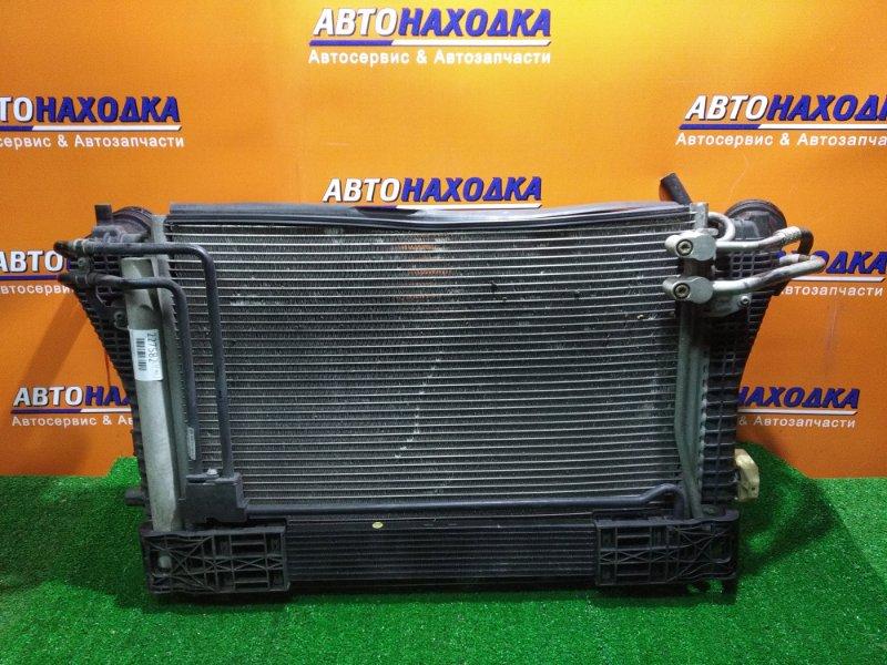 Радиатор интеркулера Volkswagen Passat 3C5 BWA 05.2006 +КОНДИЦИОНЕР 3C0820411F, АКПП 3C0317019C