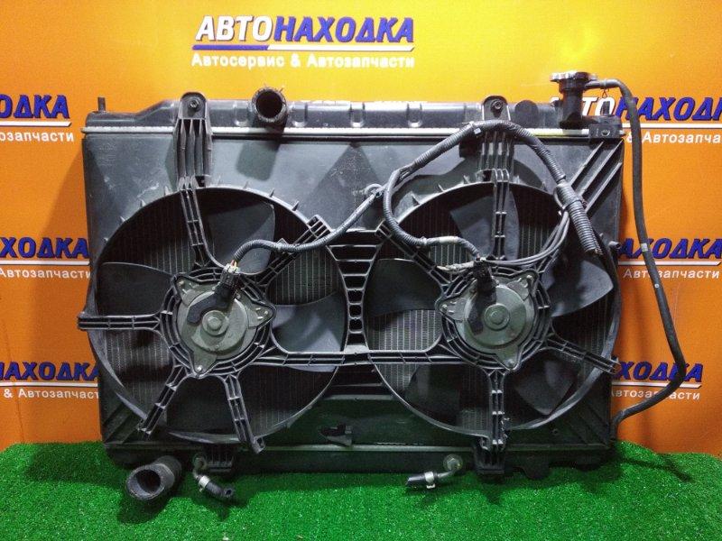 Радиатор двигателя Nissan Murano TZ50 QR25DE AT, В СБОРЕ, ПОД ПРОВЕРКУ, ЕСТЬ МЯТАЯ ТРУБКА,