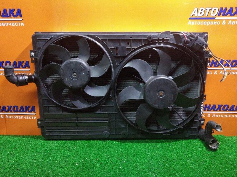 Радиатор двигателя Volkswagen Passat 3C5 BWA 05.2006 В СБОРЕ, 650MM*454MM