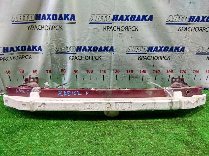 Усилитель бампера Toyota Corolla Rumion ZRE152N 2ZR-FE 2007 передний 52021-12280, 52611-12240 передний швеллер +