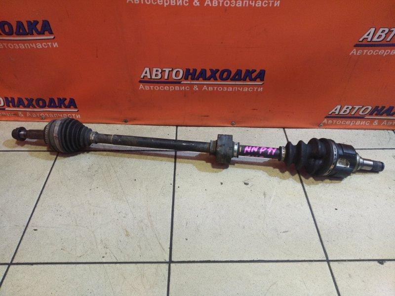Привод Toyota Porte NNP11 1NZ-FE передний правый ABS
