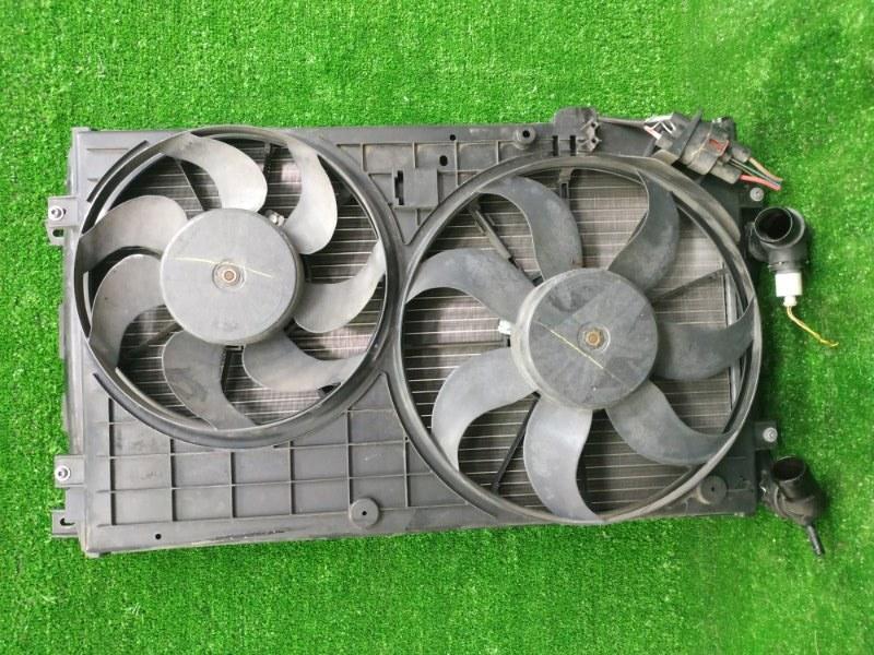 Радиатор двигателя Volkswagen Golf 5K1 CAXA 2009 1K0121253BB Радиатор основной в сборе с диффузором
