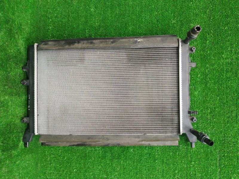 Радиатор двигателя Volkswagen Golf 5K1 CAXA 2009 1K0121251BN Радиатор дополнительный системы