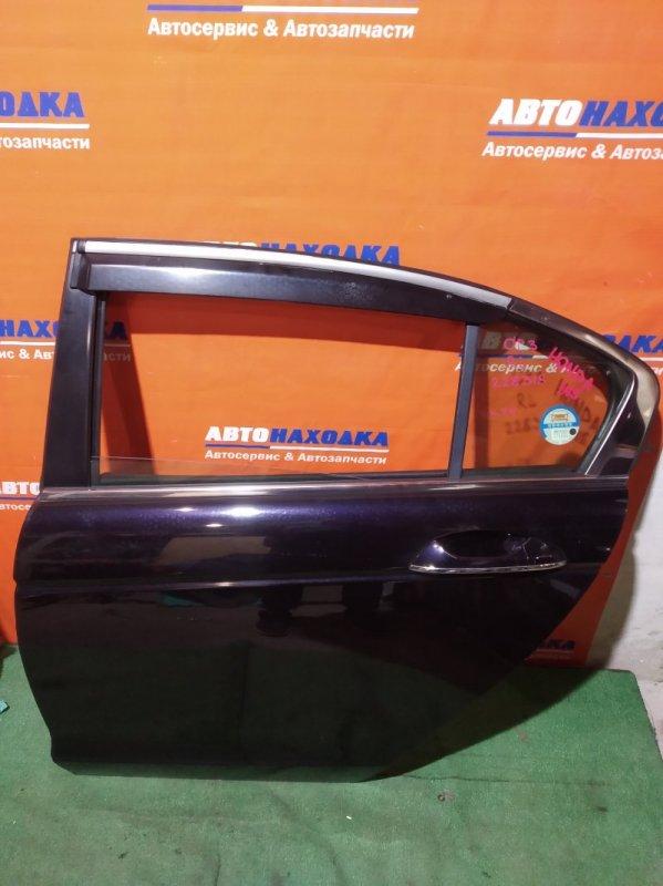 Дверь Honda Inspire CP3 J35A 2007 задняя левая ХТС ветровик+петли/стекло нетонир