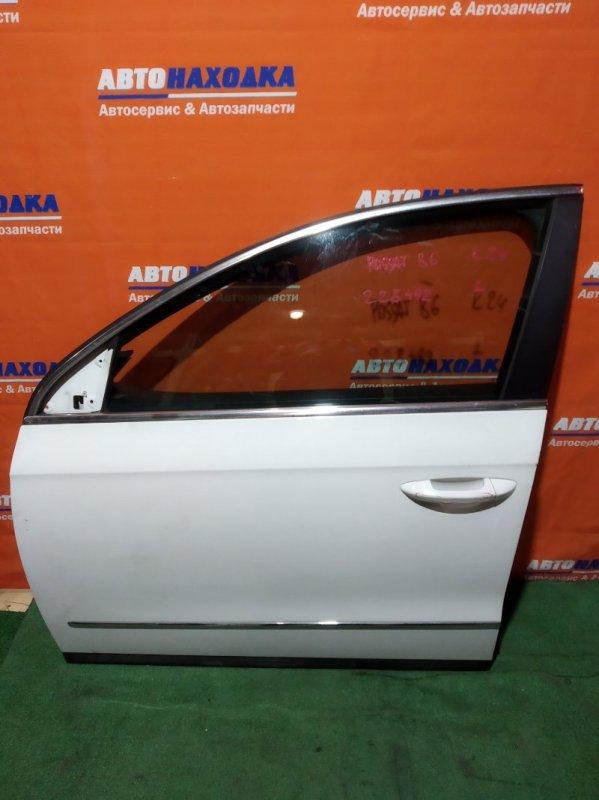 Дверь Volkswagen Passat B6 CAXA 2005 передняя левая есть небольшие дефекты