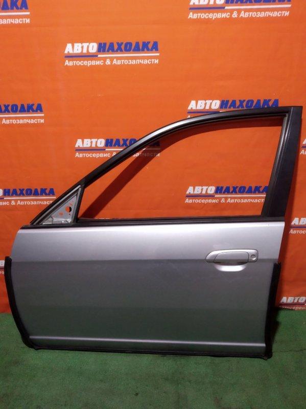 Дверь Honda Civic Ferio ES1 D15B 2000 передняя левая лом верхнего крепления накладки