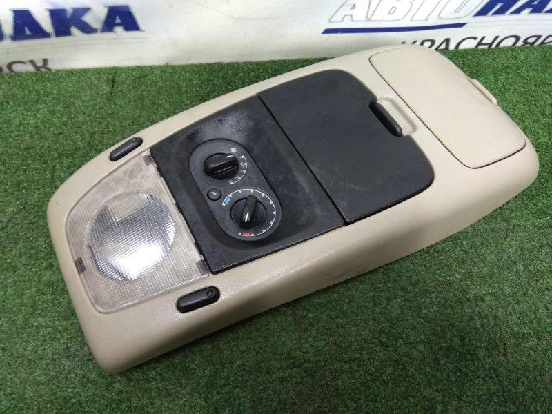 Плафон салона Ford Explorer UN152 COLOGNE V6 2001 потолочный плафон, с управлением отопителем, с