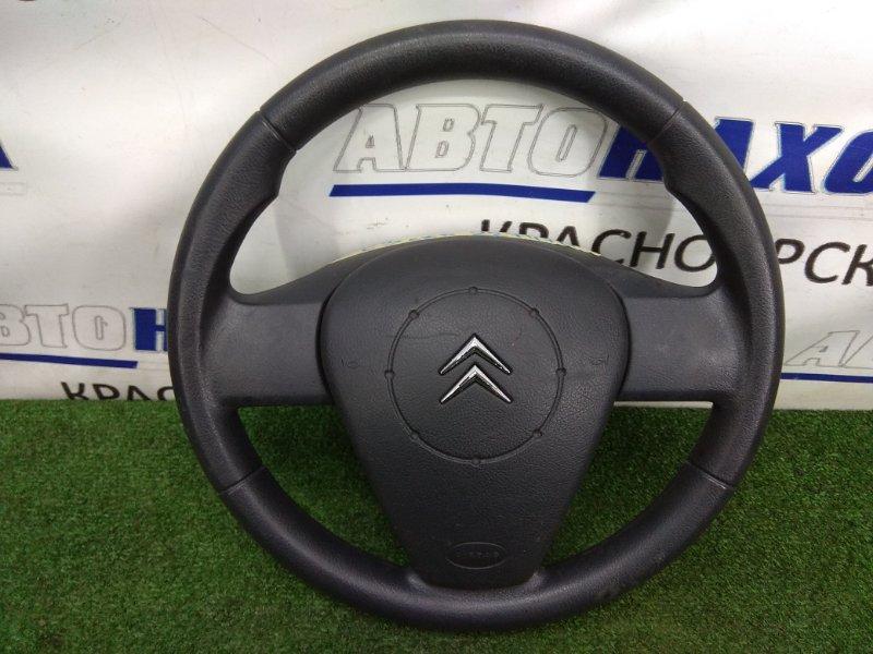 """Airbag Citroen C3 F TU5JP4 2001 4109HE ХТС, водительский с рулем, без заряда, черный, цвет салона """"FT"""""""