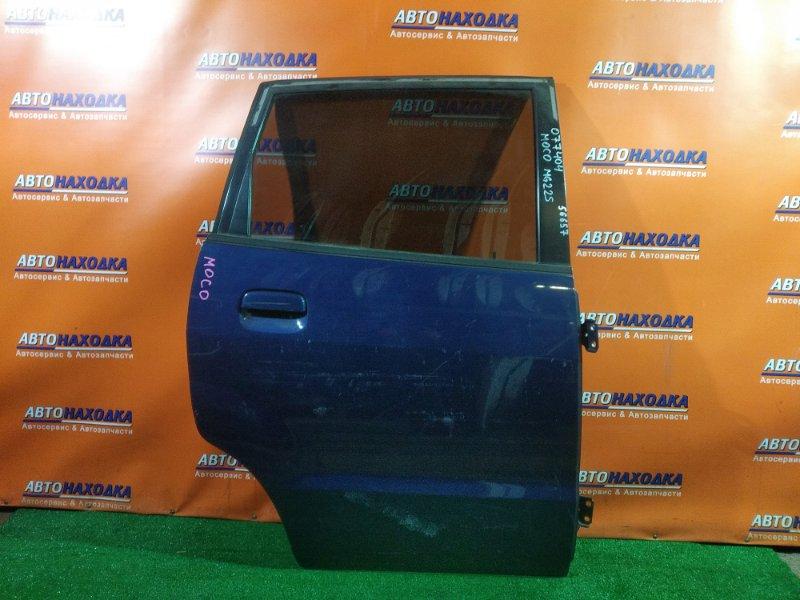 Дверь Nissan Moco MG21S K6A задняя правая 2002-2006 1 поколение