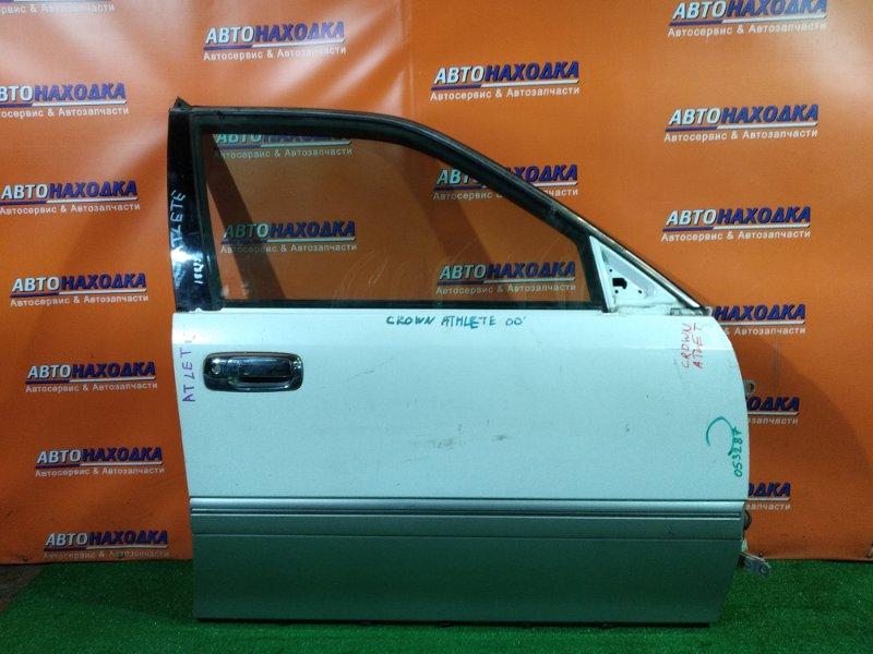 Дверь Toyota Crown Athlete GS171W 1G-FE передняя правая