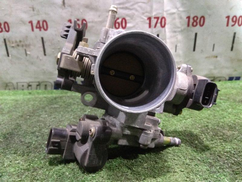 Заслонка дроссельная Toyota Platz NCP12 1NZ-FE 1999 22210-21010 механическая, в сборе, с