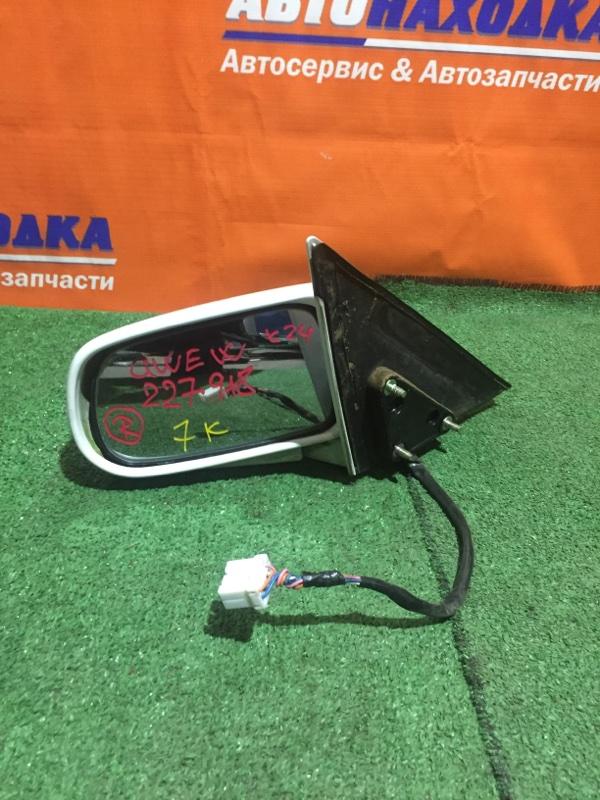 Зеркало Mazda Capella GWEW FS-ZE 1997 правое под полировку цвет A3D, 7 контактов