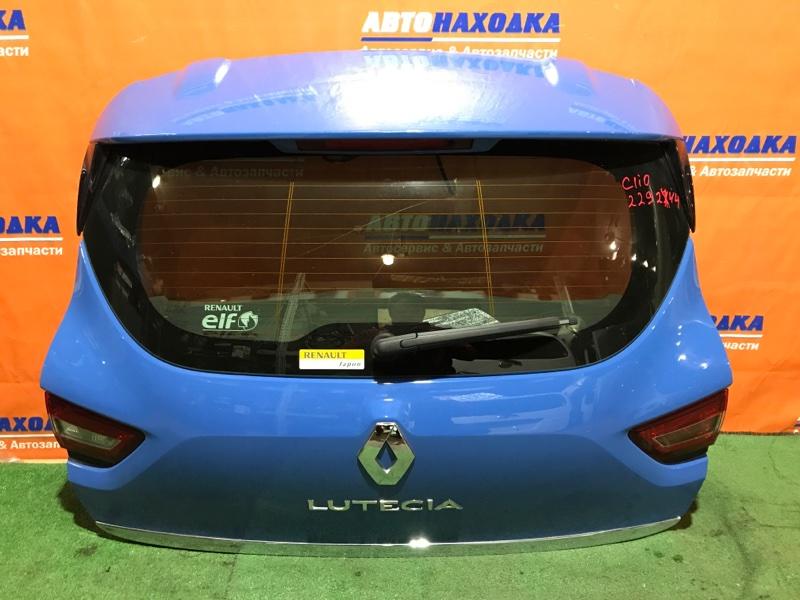 Дверь задняя Renault Clio BH98 H4B 400 2012 задняя 12023 ОТС+фонари 12023 +дворник+мотор
