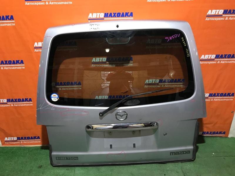 Дверь задняя Mazda Bongo SKF2V RF 1999 задняя низкая крыша, цвет 22V под покраску, стекло