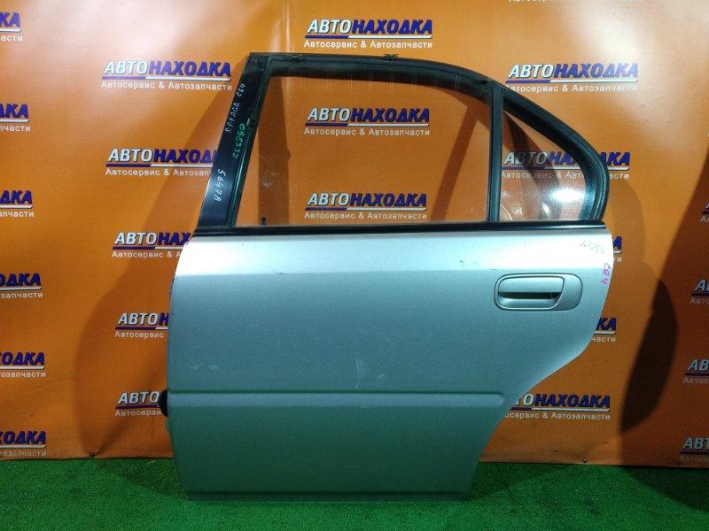 Дверь Honda Rafaga CE4 G20A задняя левая без внутренней ручки