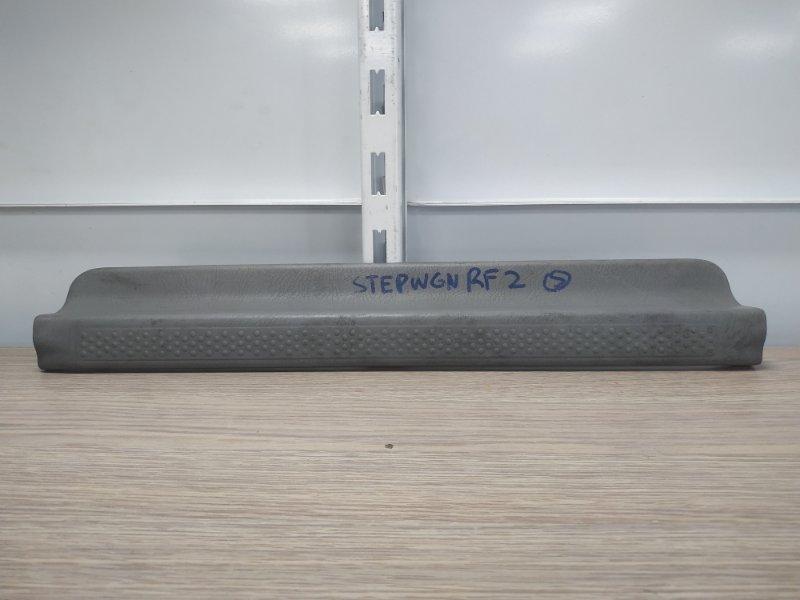 Накладка на порог Honda Stepwgn RF1 B20B передняя правая 84201-S47-0030, 84201-S47-003ZA
