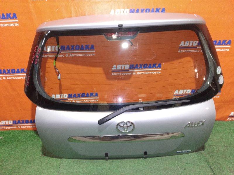 Дверь задняя Toyota Allex NZE121 1NZ-FE 2001 задняя ОТС +дворник+мотор дворников+замок+петли