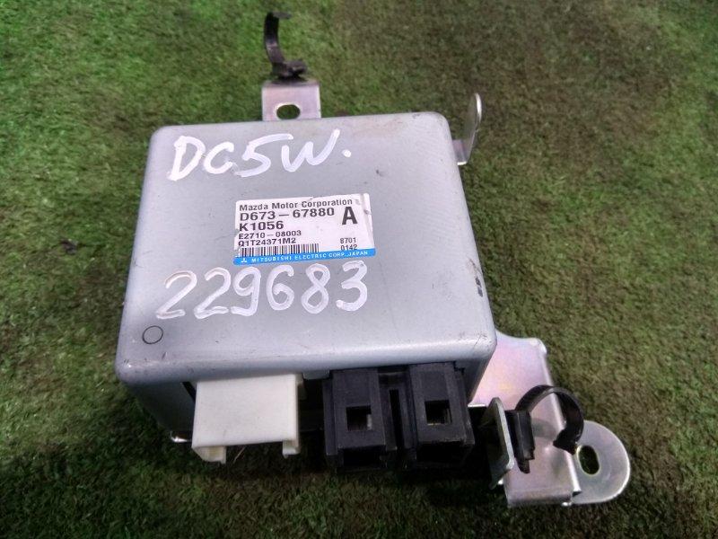 Блок управления рулевой рейкой Mazda Verisa DC5W ZY-VE 2006 D67367880A блок управления рулевой