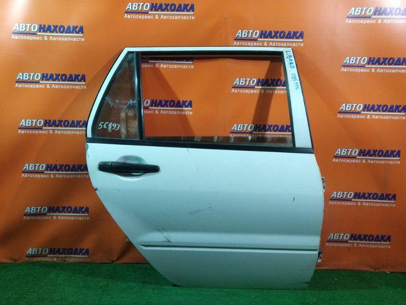 Дверь Mitsubishi Lancer Cargo CS2V 4G15 задняя правая WAGON