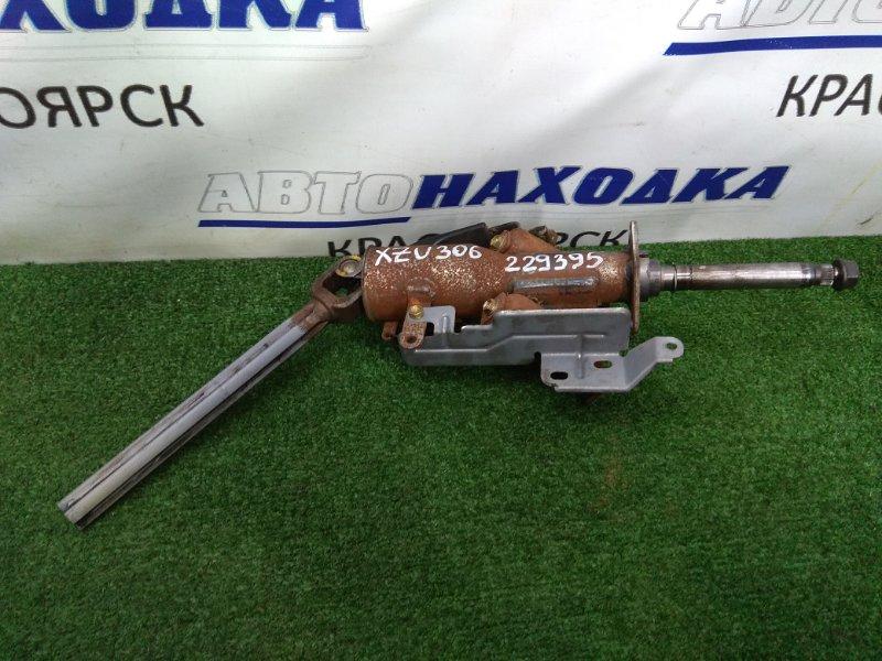Колонка рулевая Toyota Dyna XZU306M S05D 1999 Вал рулевой колонки с крестовиной и механизмом