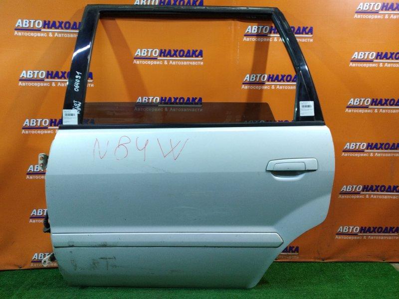 Дверь Mitsubishi Chariot Grandis N84W 4G64 задняя левая к9