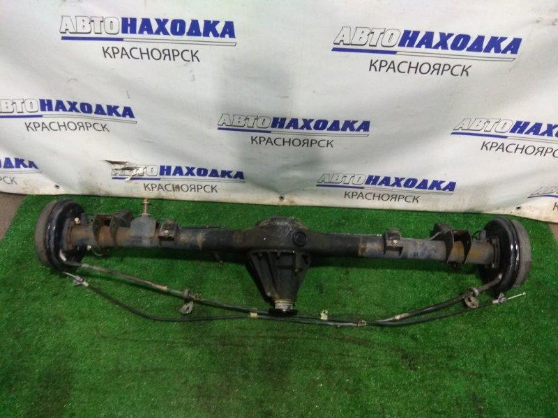 Мост Toyota Raum NCZ25 1NZ-FE 2003 задний 41110-16141, 42110-52020 задний, в сборе, без стабилизатора. 41/18
