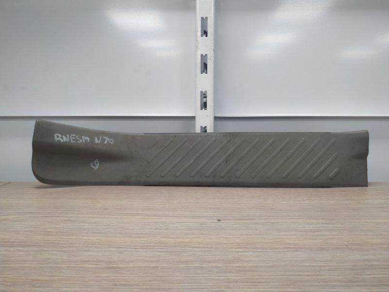 Накладка на порог Nissan R'nessa N30 SR20DE задняя левая 769B75V000 внутренний