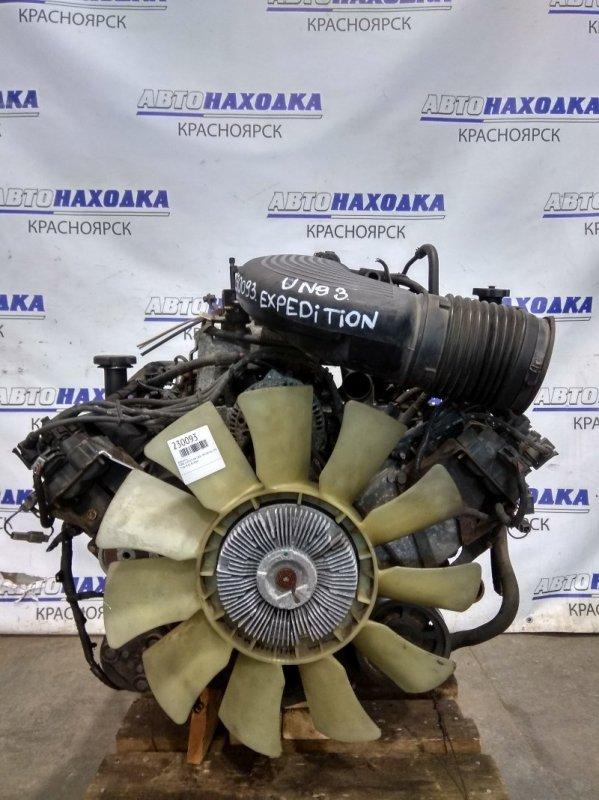 Двигатель Ford Expedition UN93 TRITON 4.6L 1996 Triton V-4.6 в сборе с навесным. Есть видео запуска.