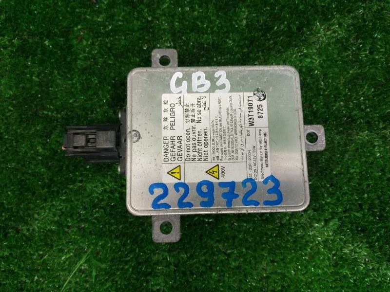 Блок розжига ксенона Honda Freed GB3 L15A 2008 W3T19071 W3T19071, под лампу D2R / D2S