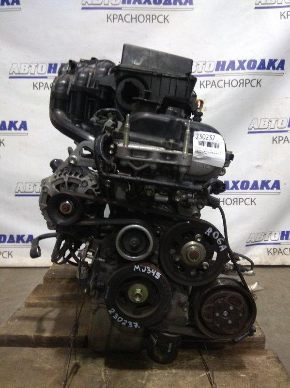 Двигатель Mazda Flair MJ34S R06A 2012 A114314 № A114314, ХТС пробег 52 т.км. VVT-I. В сборе с навесным