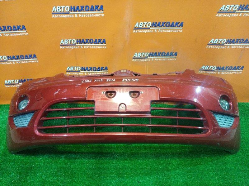 Бампер Mitsubishi Colt Plus Z21W 4A91 передний MN140471 ТУМАНКИ A044633. 3MOD.