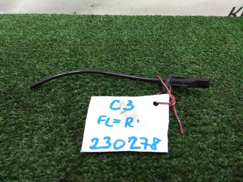 Датчик abs Citroen C3 F TU5JP4 2001 передний 9638720180 передние, левый = правый