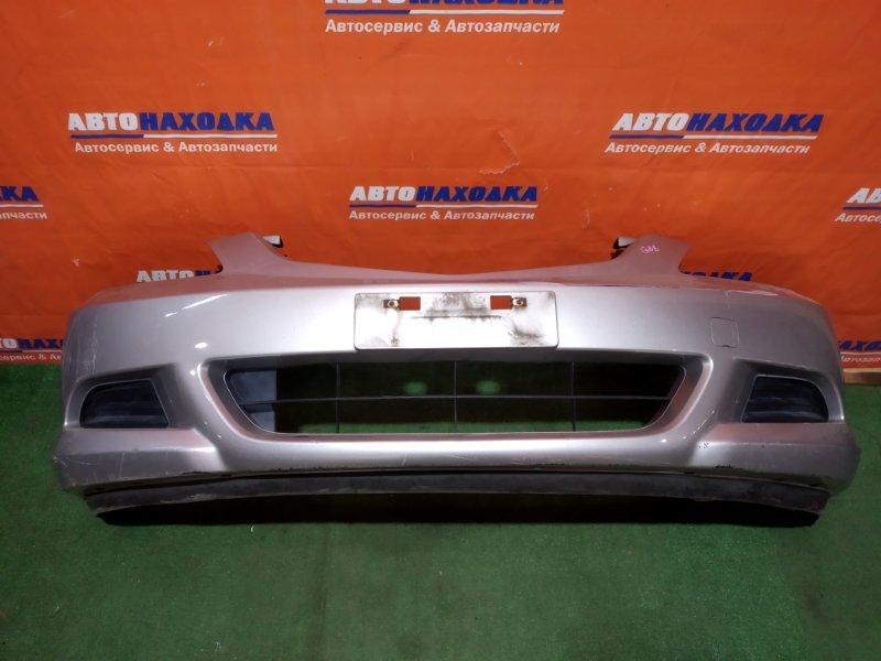 Бампер Honda Fit Aria GD8 L15A 2005 передний 2мод цвет NH700M под покраску