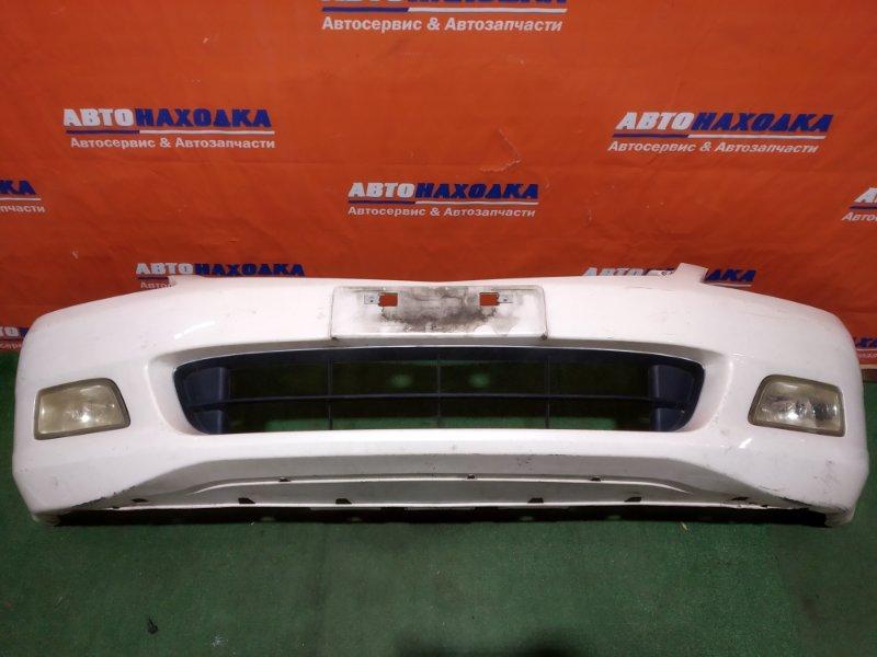 Бампер Honda Inspire UC1 J30A 2003 передний туманки 3376/под покраску