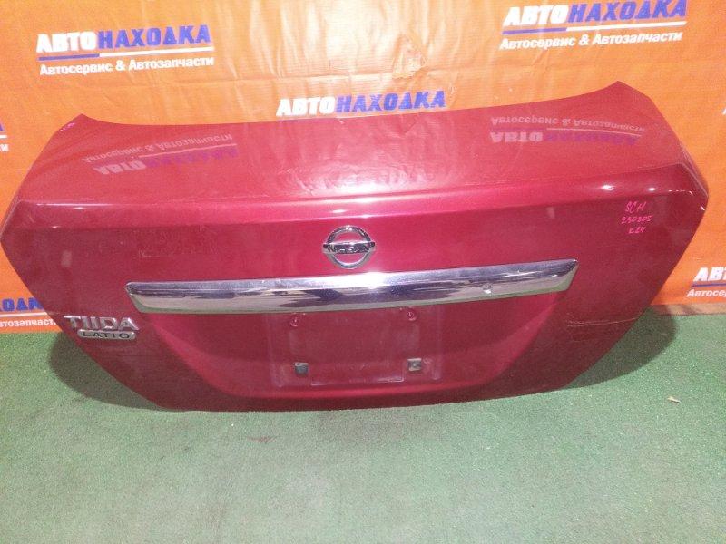 Крышка багажника Nissan Tiida Latio SC11 HR15DE 2004 ОТС